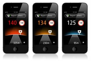 TomTom App Autovelox iPhone