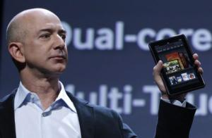 jeff bezos amazon kindle tv