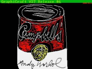 campbell soup andy warhol digital art
