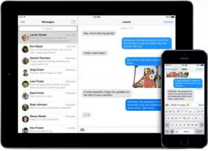 apple imessage sms