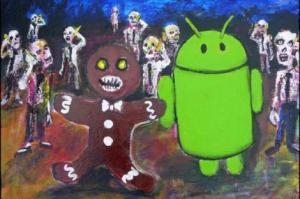 android gingerbread easter egg