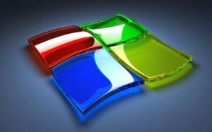 3d windows logo wallpaper