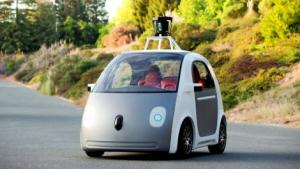 Google Self driving car vehicle mockup 1