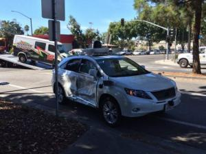 google car incidente