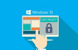 Privacy Windows 10 android ios