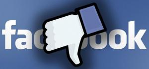 facebook downvote dislike