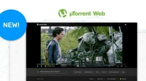 uTorrent Web streaming