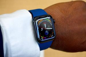 apple watch series 4 ora legale solare crash