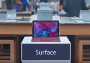 Surface Go iPad spot Microsoft