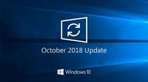 october update advanced users